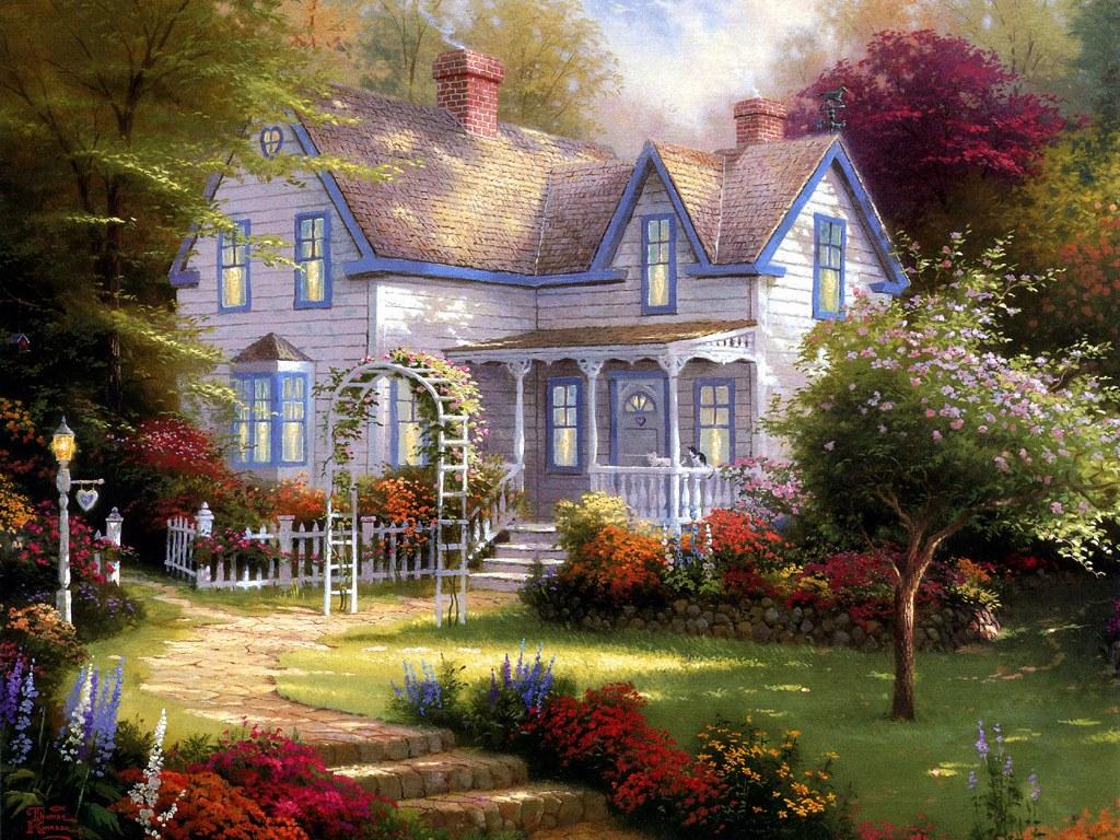 Lindas Imagens De Casas E Pequenos Cottages De Sonho
